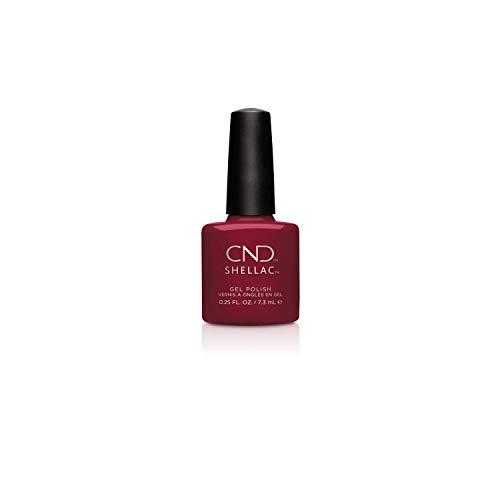 CND Shellac - Esmalte de Uñas de Gel, Tono Rouge Rite - 7.3 ml