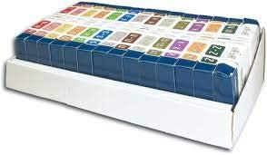 ABKM Rolls Color Code 再販ご予約限定送料無料 File Folder Labels 無料 Kits Starter