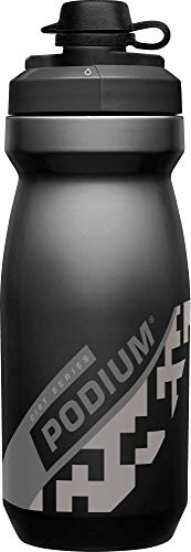 CamelBak Podium Dirt Series Mountain Bike Water Bottle 21 oz, Black