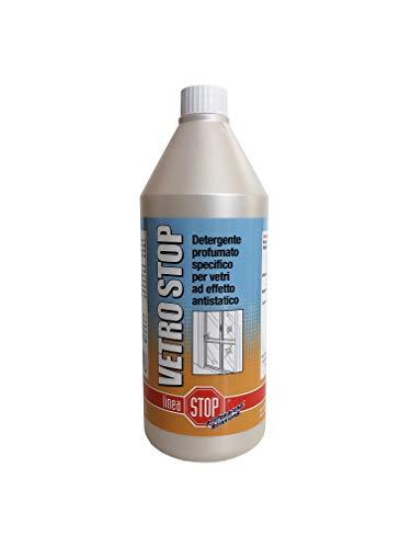 Linea Stop Professional Solutions Vetro Stop Detergente profumato per vetri e Varie superfici, nd, 750 ml