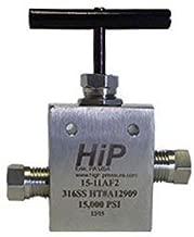 40-11HF9 Válvula de alta presión de dos vías, recta, 9/16 pulgadas OD, 40000 PSI