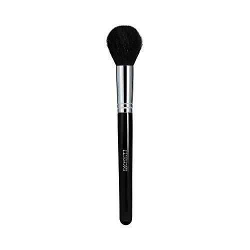 T4B LUSSONI 300 Series Pinceaux Maquillage Professionnel Pour Bronzeurs, Enlumineurs, Fards A Joues, Blush, Poudres Et Contouring, En Forme Ronde Et Coudée (PRO 318 Petit pinceau poudre)