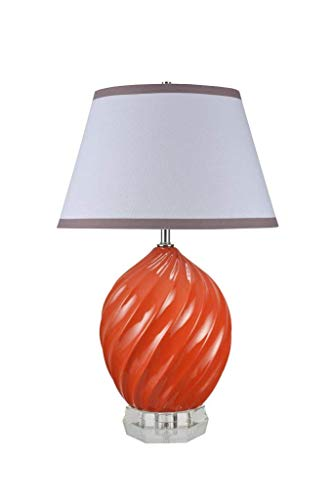 VIWIV Lámpara de Escritorio N/A (Color : Tangerine, Size : 26 1/2' High)