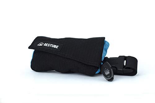 Restube SWIM Boya de Natación - Cinturón Flotador para Natación en Aguas Abiertas, Triatlón - Accesorio de Supervivencia Compacto con Bolsillo para Llaves y Silbato