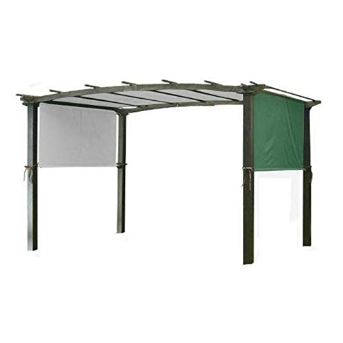 5.2 x2m Canopy Cover, Sun Shade Universal For Pergola Structures, Garden Gazebo Waterproof Top Cover Roof Replacement Tent, Metal Structures Are Not Included