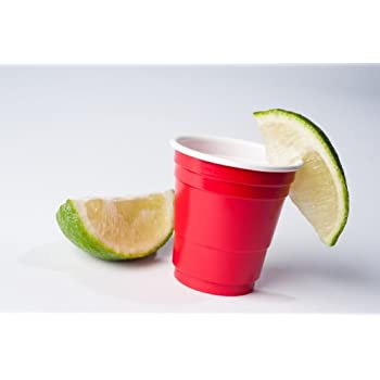 Goodtimes 2oz MINI RED PARTY CUPS (3 packs of 20 cups) ~ perfect size for liquor shots, Jello shots, serving condiments and kids love them too!