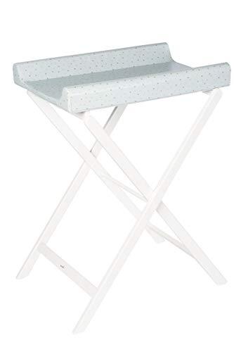 Geuther 4817 WE 073 Trixi - Cambiador plegable (7,07 kg), color blanco