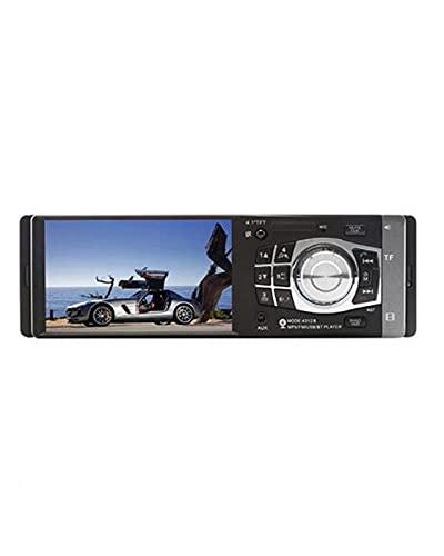 Autoradio Auto Audio Stereo Lettore MP5 Supporto Telecamera Posteriore USB Solo per Android Bluetooth FM 4012B 4.1 Pollici 1 DIN(Color:Without Rear Camera)