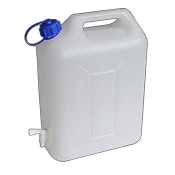 BENSON 20L Bidon à eau avec robinet de qualité alimentaire, sans odeur ? Réservoir d'eau stable pour le camping et les vacances