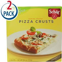 Schar Pizza Crusts Single Box Gluten Free -- 10.6 oz Each / Pack of 2