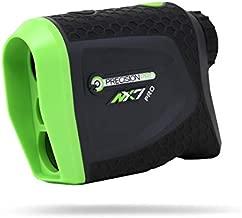 Precision Pro Golf, NX7 Pro Slope Golf Rangefinder, Laser Range Finder with Pulse Vibration, 400 Yard Range, 6X Magnification, Flag Lock, Slope Measurement, Battery Replacement