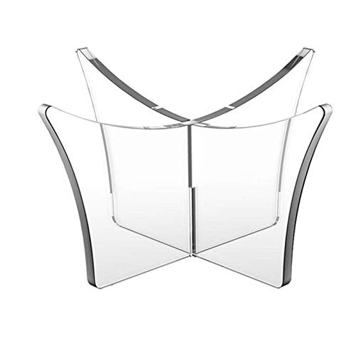 Goodtimera Acryl Bowling Stand Holder - Multifunktionale transparente Rugby-Halterung Basketball Ball Display Rack