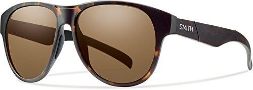Smith Optics Townsend Sunglass with Carbonic TLT Lenses, Matte Tortoise Frame, Brown Lenses