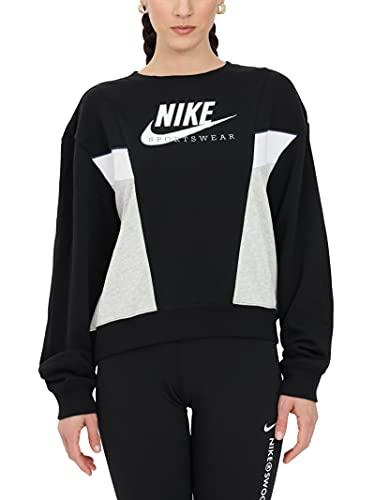 Nike Sportswear Heritage - CZ8598-010 Sweatshirt ohne Kapuze für Damen (M)
