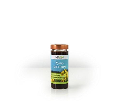 Raps Lecithin, flüssig, IVOVITAL®, allergenfreie Soja-Alternative (275 ml)