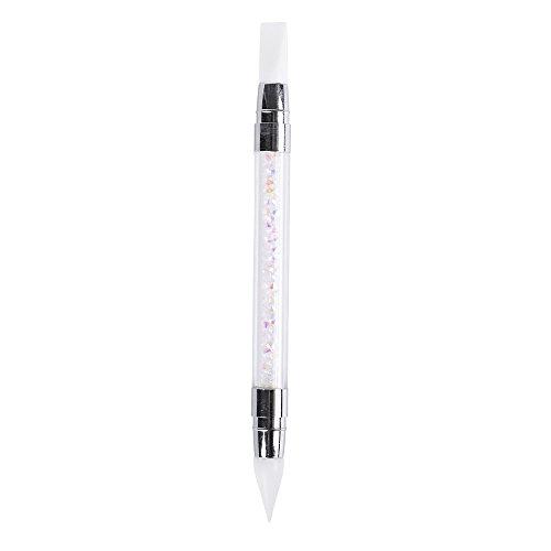 Anself 1St Nail Art Pen Glitter Picker Nagel Pinsel Pulver Kommissionierung Werkzeuge Strass Griff
