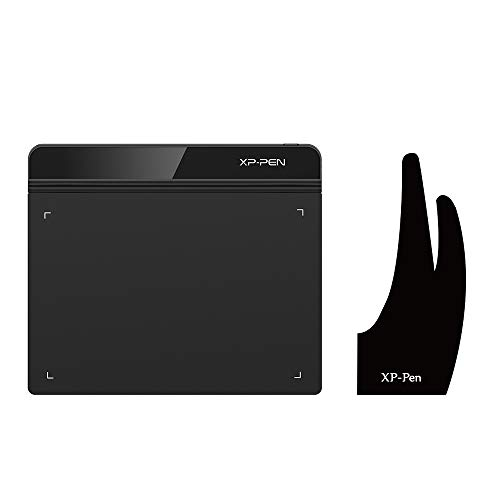 XP-Pen StarG640 6x4 Inch Ultrathin Tablet Drawing Tablet & Professional Artist Lycra Glove(Suitable for Right Hand and Left Hand Free Size)