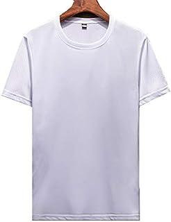 JINPINメンズ Tシャツ 運動服 スポーツウェア 男性用 ファッショ ポロシャツ 半袖 速乾性tシャツ