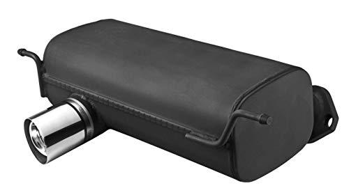Sportauspuff Auspuff 102-117/08-1 | Kompatibel zu 116i 118i 120i (85kw/95kw/110kw) | 1er Reihe (E87) | 80mm