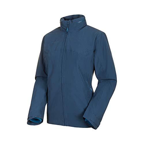 Mammut Damen 3in1 Trovat Hooded Hardshell-Jacke mit Kapuze, Wing Teal-Sapphire, XL*