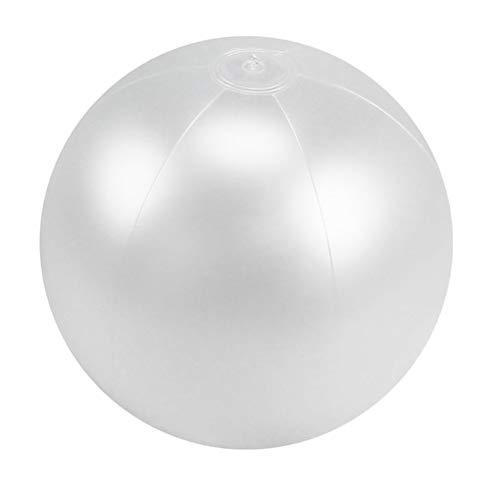 Abaodam Aufblasbare Weihnachtskugel aus PVC mit LED-Beleuchtung