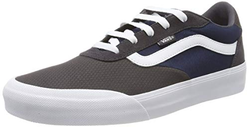 Vans Herren Palomar Sneaker, Mehrfarbig ((Tectuff) Obsidian/Dress Blues V00), 40.5 EU