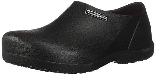 VANGELO Professional Slip Resistant Clog Men Work Shoe Nurse Shoe Chef Shoe Carlisle Black Men Size 12