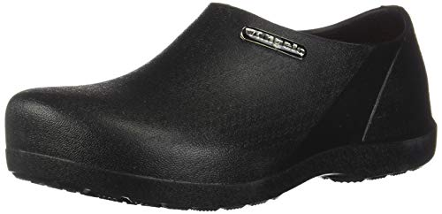 VANGELO Professional Slip Resistant Clog Men Work Shoe Nurse Shoe Chef Shoe Carlisle Black Men Size 13