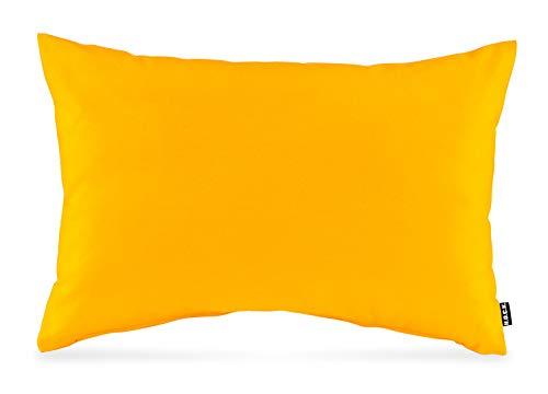 H.O.C.K. Classic Uni Outdoor Kissen 60x40cm gelb