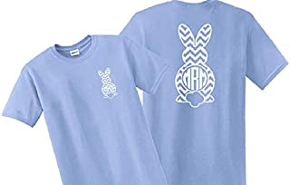 chevron monogram t shirts