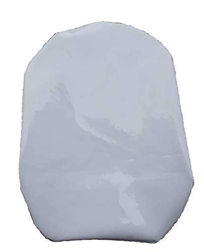 Simple Stoma Cover Ostomy Bag Cover Shower Cover PVC Coated White