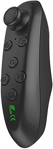 Mando a Distancia Bluetooth, Gamepad inalámbrico Controlador Remoto Bluetooth Autocámara Cámara Obturador Ratón inalámbrico Gamepad Gafas 3D VR Control Remoto para iPhone Android PC TV Box