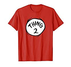 Best clothing styles for Thing 2 Emblem RED T-Shirt