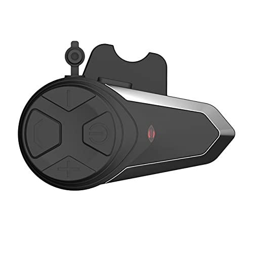 NewIncorrupt BT-S3 1000M Motocicleta BT Interphone Moto Casco Intercomunicador inalámbrico Auriculares FM Mini interfono portátil