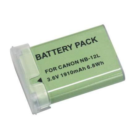 Bateria NB-12L para câmera digital e filmadora Canon