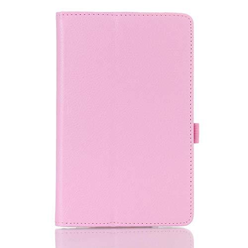 Solid Coque para Samsung Galaxy Tab 4 7.0 SM-T230 T231 T235 Funda Smart Magnetic Auto-Sleep PU Stand para Samsung Tab 4 T230 Cover-Pink_Tab4 7' T230 T231