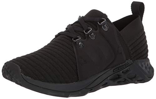 Merrell Women's Range AC+ Sneaker, Triple Black, 08.0 M US