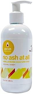 Oyin Handmade No Ash At All - Velvety, Protective Cocoa Butter Lotion 8oz (original honey)
