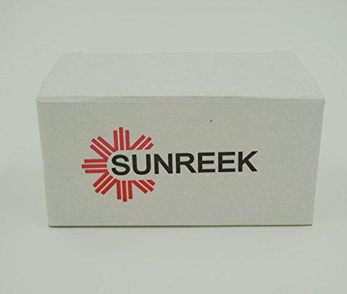 SUNREEK 5 Ml Amber Glass Bottle W/euro Dropper. Black Cap. 15 Pack