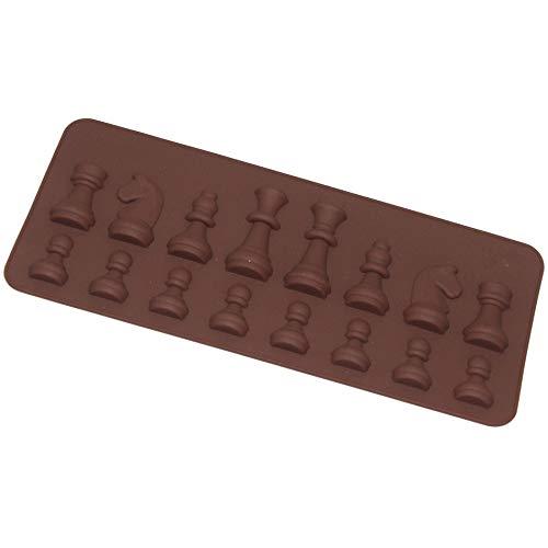 Hornada Molde Torta Taza Ajedrez Silicona Molde Chocolate