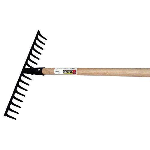 Wurko D16CM-Rastrillo agrícola, 16 dientes