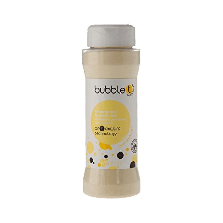 灌漑発揮する一方、バブルトン風呂スパイス注入レモングラス&緑茶225グラム - Bubble T Bath Spice Infusion Lemongrass & Green Tea 225g (Bubble T) [並行輸入品]