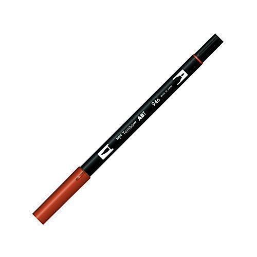 Tombow ABT Dual Brush Pen - Lápiz de pincel, 2 puntas, color dorado