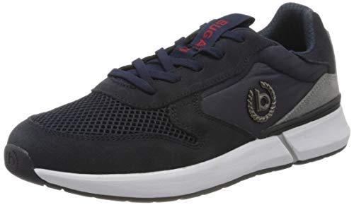 bugatti Herren 341927011400 Sneaker, Blau, 42 EU