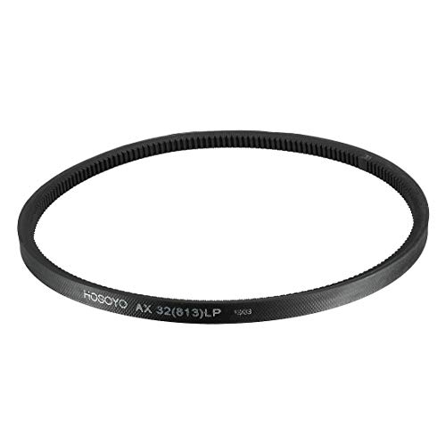 uxcell AX32 Drive V-Belt 32 Inches Length Industrial Power Rubber Transmission Belt