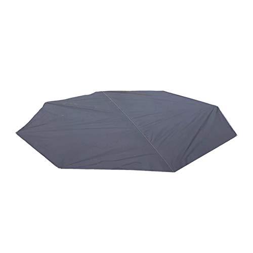 Luckxing wasserdichte Campingplane multifunktional Achteckige Campingmatte Oxford Multifunktionale Picknickmatte Strandmatte Camping Plane, UV-Sonnenschutz und Schneeschutz