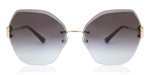 Bulgari Damen 0BV6105B 20148G 62 Sonnenbrille, Gold (Pink Gold/Greygradient)