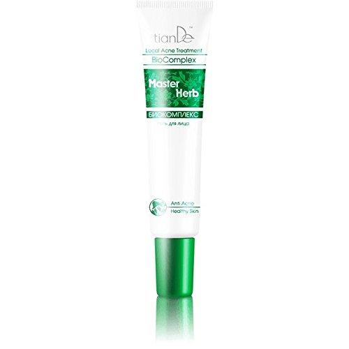 Anti-acné gel 'Biocomplex.' TianDe 11321, 25g Fito-corrección de la piel problemática!