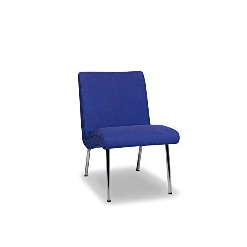 Walter Knoll Vostra Fabric Armchair Blue Chair