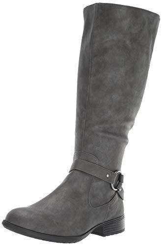 LifeStride Women's X-FELICITYWC Knee High Boot, Dark Grey, 9 M US